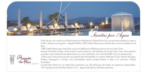 Sanitas Per Aqua (1 Night - Sunday to Friday)