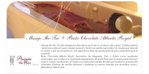 Shi-Tao Massage with Volcanic Rocks + Atlantis Royal Chocolat Bath